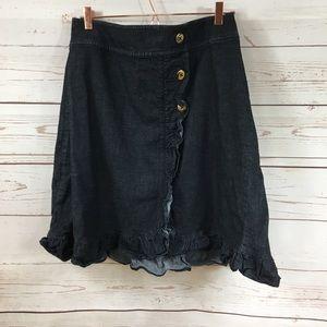 Ladies Lane Bryant Jean Skirt